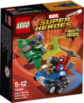 LEGO Super Heroes Mighty Micros Spider-Man vs. Green Goblin - 76064