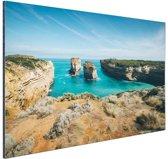De eilandboog Aluminium 60x40 cm - Foto print op Aluminium (metaal wanddecoratie)
