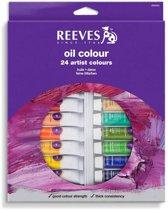 Reeves Olieverfdoos 24 tubes