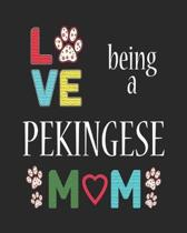 Love Being a Pekingese Mom