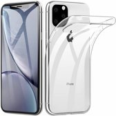 Hoesje CoolSkin3T TPU Case voor Apple iPhone 11 Pro (5.8) Tr. Wit