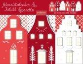 """Adventskalender & Teelichtleporello """"Weihnachtsstraße"""""""