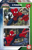 Educa Ultimate Spiderman - 2 x 100 stukjes