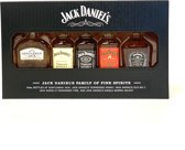 Jack Daniels miniaturen geschenkverpakking