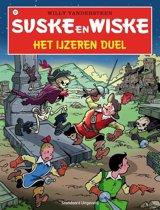 Omslag van 'Suske en Wiske 321 Het ijzeren duel'