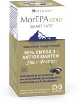 Minami MorEPA Gold (met olijfextract) - 30 softgels  - Visolie - Voedingssupplement