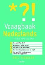 Boek cover Vraagbaak Nederlands / Druk Heruitgave van Taalwerkplaats