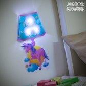 Eenhoorn Muursticker met LED Licht