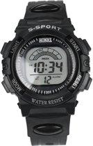 Hidzo S-Sport Horloge - Zwart