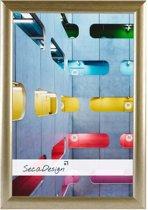 SecaDesign Tours Fotolijst - Fotomaat 20x30 cm - Rustiek Goud