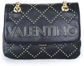 Valentino Mandolino Dames Crossbodytas - Zwart