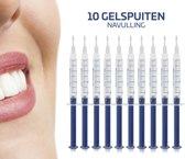 E Shoppr® Tanden Bleekset Navulling - 10 Effectieve Bleekgel Spuiten - Effectieve Gelspuiten - Tandenbleekset - Zonder Peroxide (0%) - Witte Tanden - Veilig Thuis Tanden Bleken - Tandenbleker