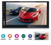 Autoradio 7'' Touchscreen   Bluetooth   Aux   USB   Achteruitrijcamera   2 DIN   Infotainment