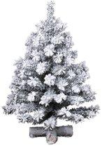Everlands Toronto snowy Mini kunstkerstboom - 90 cm hoog - Zonder verlichting