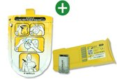 Defibtech Accu en 9V Batterij en Elektrode