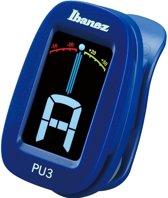 Ibanez PU3 Clip Tuner Blauw
