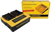 PATONA Dual LCD USB Charger for Contour GPS Contour CT-3650 HD 1080P
