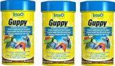 Tetra guppy voer 100 ml - 3 stuks