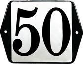 Emaille huisummer model oor - 50
