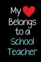My Heart Belongs to a School Teacher