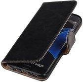 Samsung Galaxy S7 Edge Hoesje Zakelijke Bookstyle Zwart