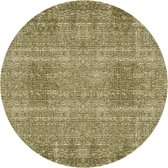Carpet Washed cotton round green