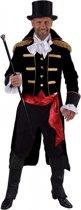 Luxe circus jas zwart voor heren 60-62 (xl)