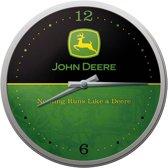 John Deere (logo) Klok