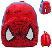 Kinderrugzak van zacht pluche - lekker zacht en praktisch cadeau | Schattige schooltas | ook leuk als luieretui |Lunch box|Mini Rugzak | Rugtas kleuter peuter pluche |Spiderman