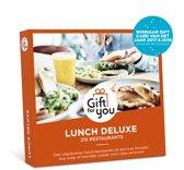 GiftForYou Cadeaubon - Lunch Deluxe