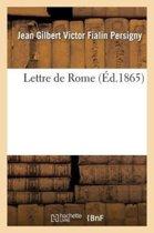 Lettre de Rome