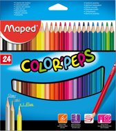 Color'peps kleurpotlood x 24
