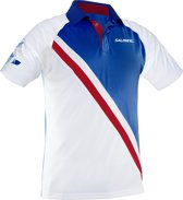 Salming - Performance Polo - Squash shirt - Navy/Rood - Heren - L