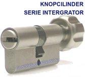 Knopcilinder 30-30 Integrator Gelijk sluitend
