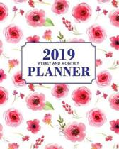 2019 Weekly and Monthly Planner