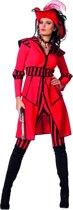 Pirate of the Seas kostuum voor dame maat 40