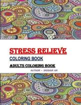 Stress Relieve Coloring Book