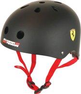 Ferrari Fietshelm - Skatehelm voor Kinderen - Zwart/Rood
