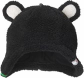 Lodger Wintermuts Hatter Teddy - Zwart - 0-3 maanden