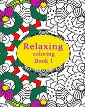 Relaxing Coloring Book 1