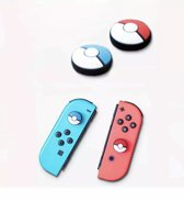 2 x Thumb grips Pokemon -  Thumb grips Nintendo Switch - Pokemon Thumb Grips - Pokeball Thumb Grips - Nintendo Switch Grips - Switch accessoires - Controller bescherming