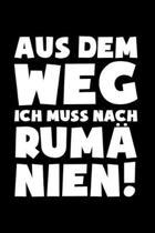 Romania: Muss nach Rum�nien!: Notizbuch / Notizheft f�r Rum�ne Rum�nin Tricou Trikot A5 (6x9in) dotted Punktraster