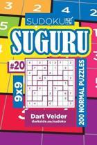 Sudoku Suguru - 200 Normal Puzzles 9x9 (Volume 20)