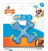 Nylabone flexi voor honden puppy teething x bone beef tot 11 kg