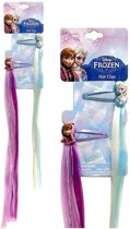 DISNEY FROZEN HAIREXTENSIONS GLITTER HAARCLIPS | 2 sets