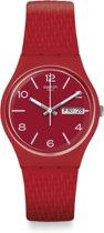 Swatch Originals Gent horloge Lazered  - Rood