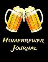 Homebrewer Journal: Beer Brewer Log Notebook