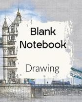 Blank Notebook Drawing