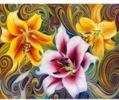 Artibalta Diamond painting pakket Three Lilies AZ-1394 50 x 40 cm