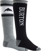 Burton Weekend Midweight 2Pk Unisex Skisokken - True Black - L
